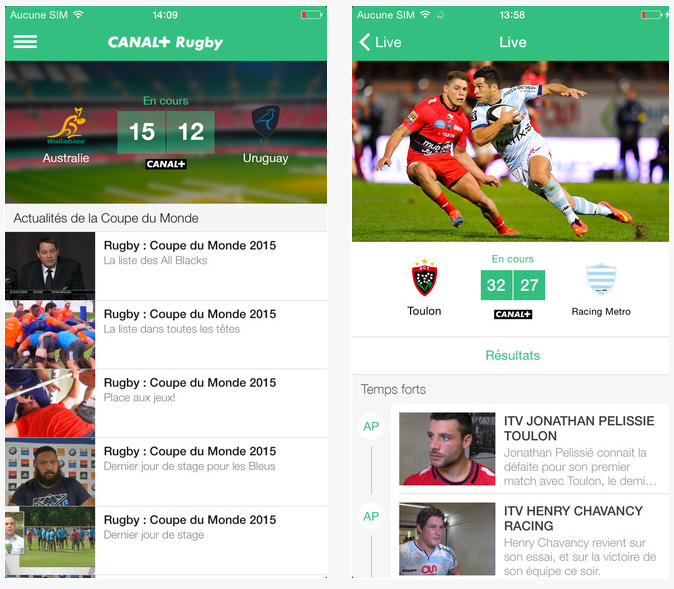 Dossier applications iphone et ipad la coupe du monde de - Resultats de la coupe du monde de rugby 2015 ...