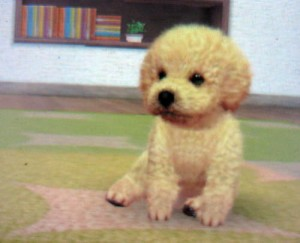 Nintendogs + cats - caniche toy