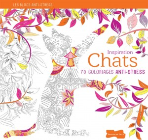 coloriages anti-stress - chats