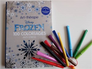 coloriages anti-stress - frozen