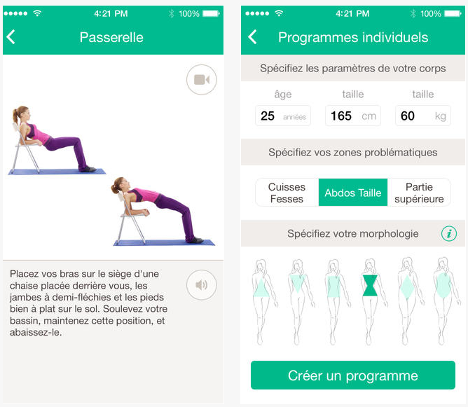 Bien-aimé Dossier Applications iPhone iPad : Votre gym à la maison  CM77