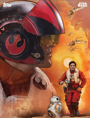 star-wars-card-trader-force-awakens-dameron