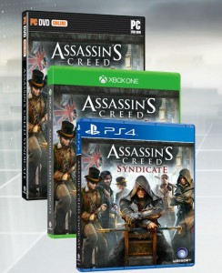 assassin's creed syndicate - jaquettes
