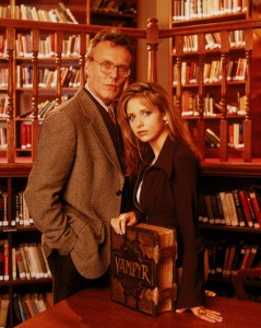 buffy contre les vampires - buffy et giles