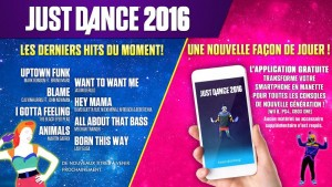 just dance 2016 - chansons