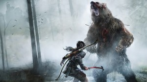 rise of tomb raider - combat