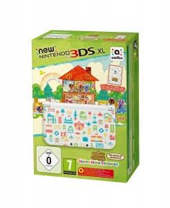 consoles 2015 - pack N3DS XL + ac happy home designer