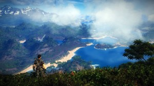 just cause 3 - paysage