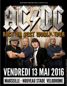 rock or bust world tour - affiche concert
