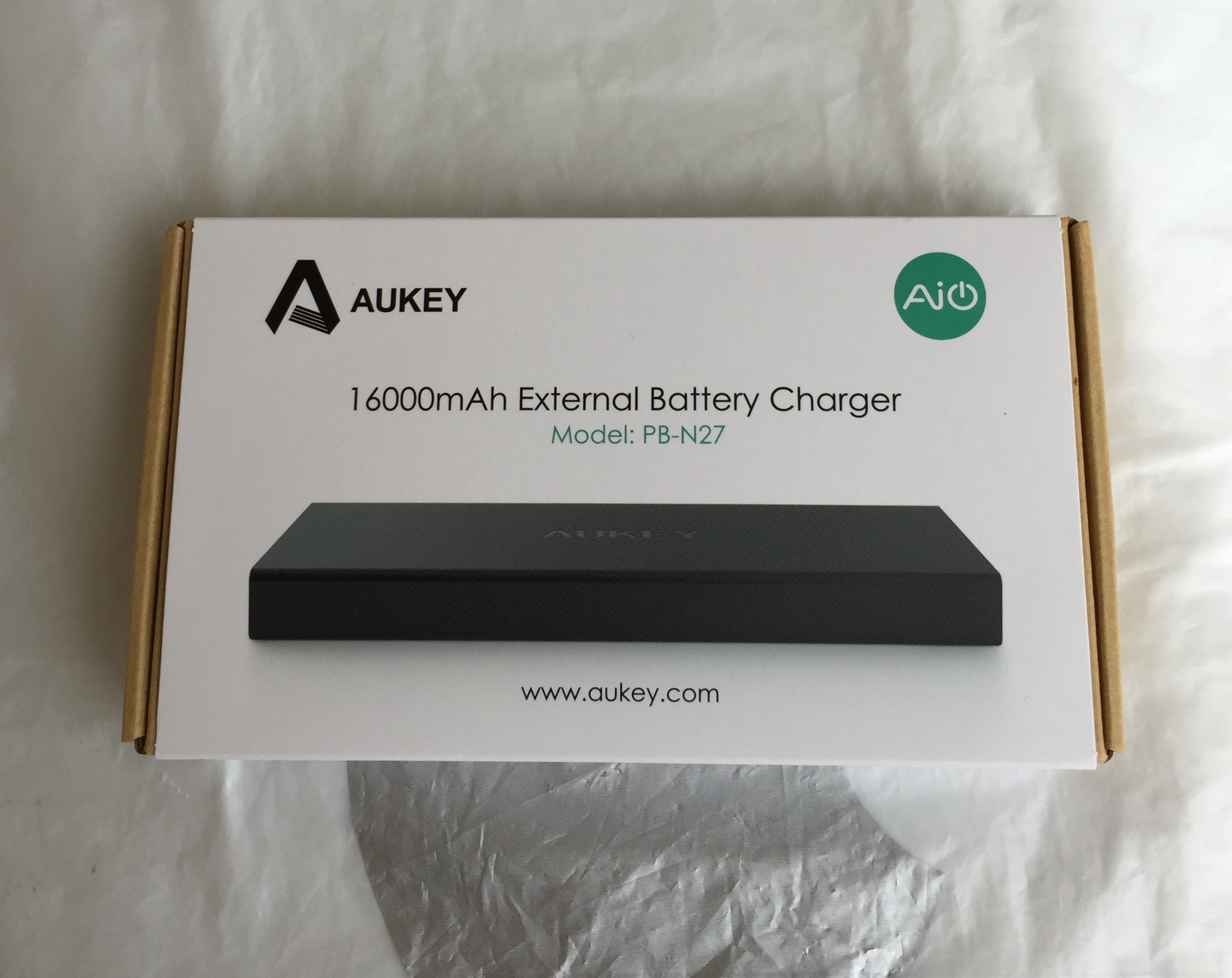 test de la batterie externe 16000 mah pb n27 aukey. Black Bedroom Furniture Sets. Home Design Ideas