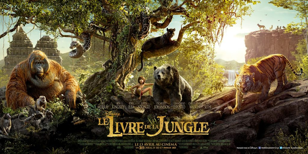 le livre de la jungle - film 2016