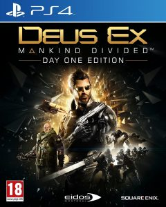 deux ex mankind divided - ps4