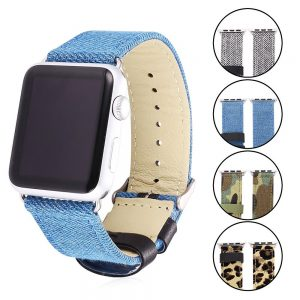 bracelets-tissus-bandmax-apple-watch