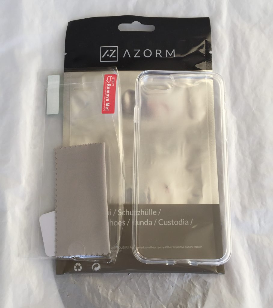 Test de la coque Crystal Edition Azorm pour iPhone 7 et iPhone 8