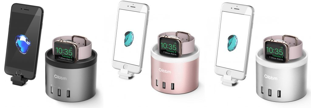 Test de la station de recharge Apple Watch et iPhone avec 4 ports USB Oittm