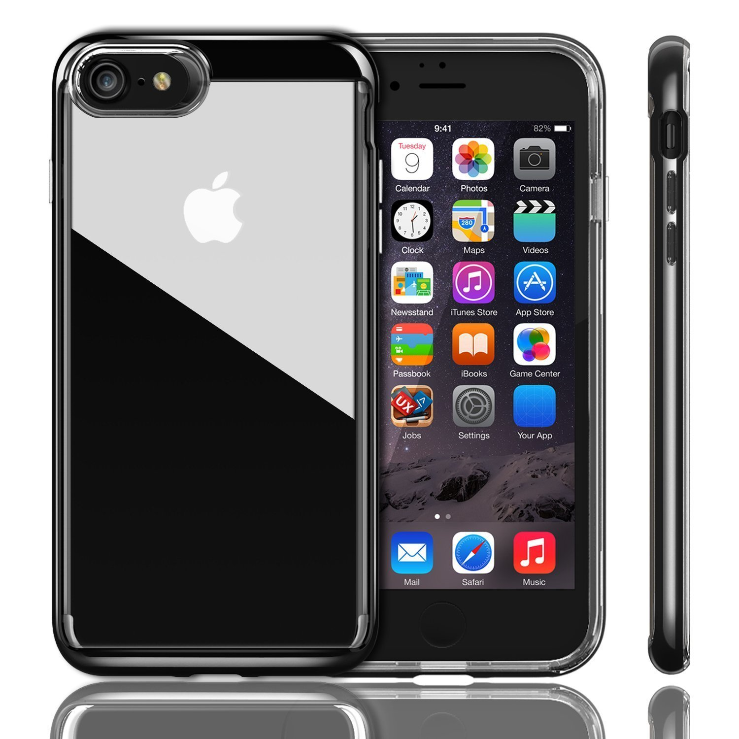 test de la coque transparente ivapo pour iphone 7 et iphone 7. Black Bedroom Furniture Sets. Home Design Ideas