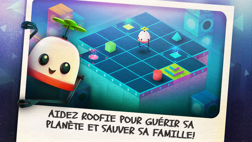 Bon Plan Roofbot Puzzler On The Roof Pour Iphone Et