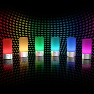 Test de la lampe LED multicolore et tactile LT-T6 Aukey