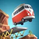 Poly Bridge pour iPhone et iPad : Simulateur de construction de ponts