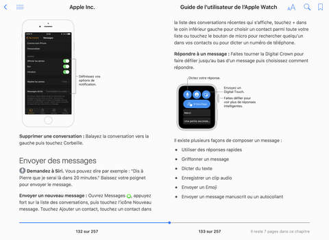 Le guide de l'utilisateur de l'Apple Watch