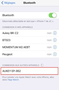 Test du casque audio Bluetooth EP-B52 Aukey