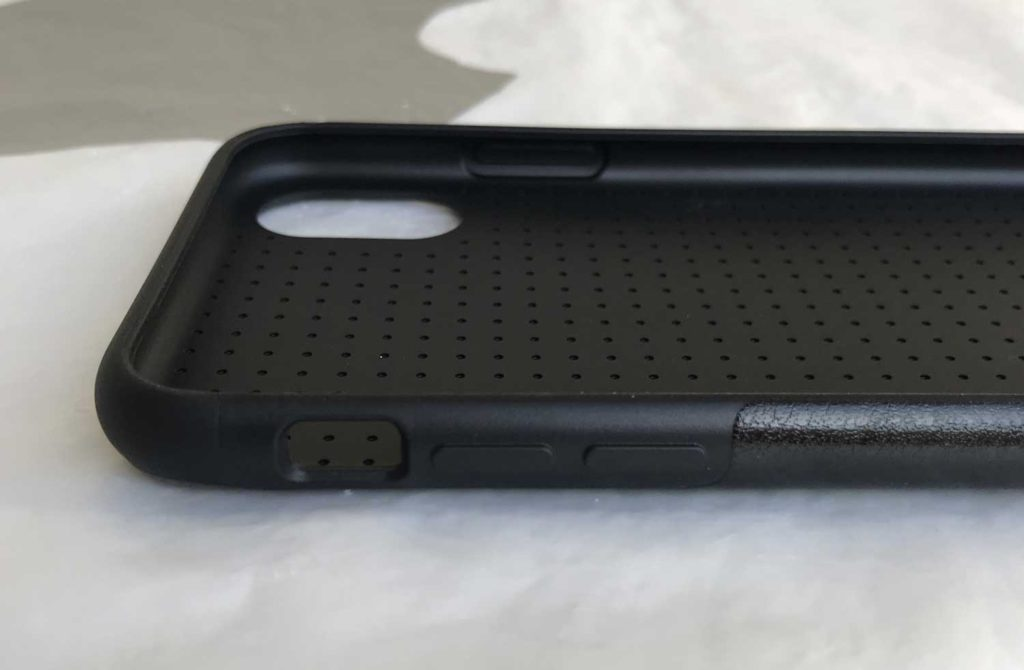 Test de la coque cuir Tendlin pour iPhone X