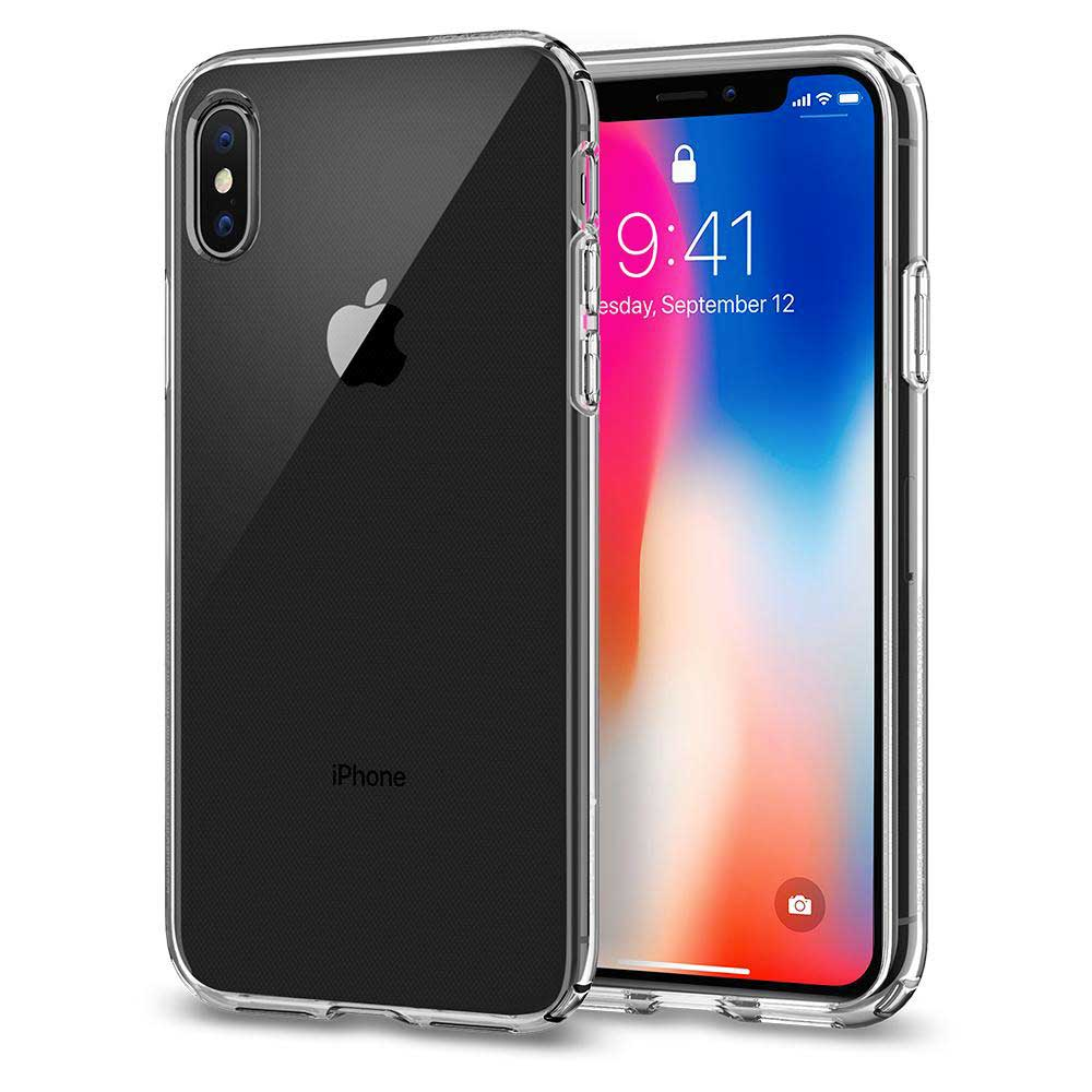 test de la coque spigen liquid crystal pour iphone x. Black Bedroom Furniture Sets. Home Design Ideas