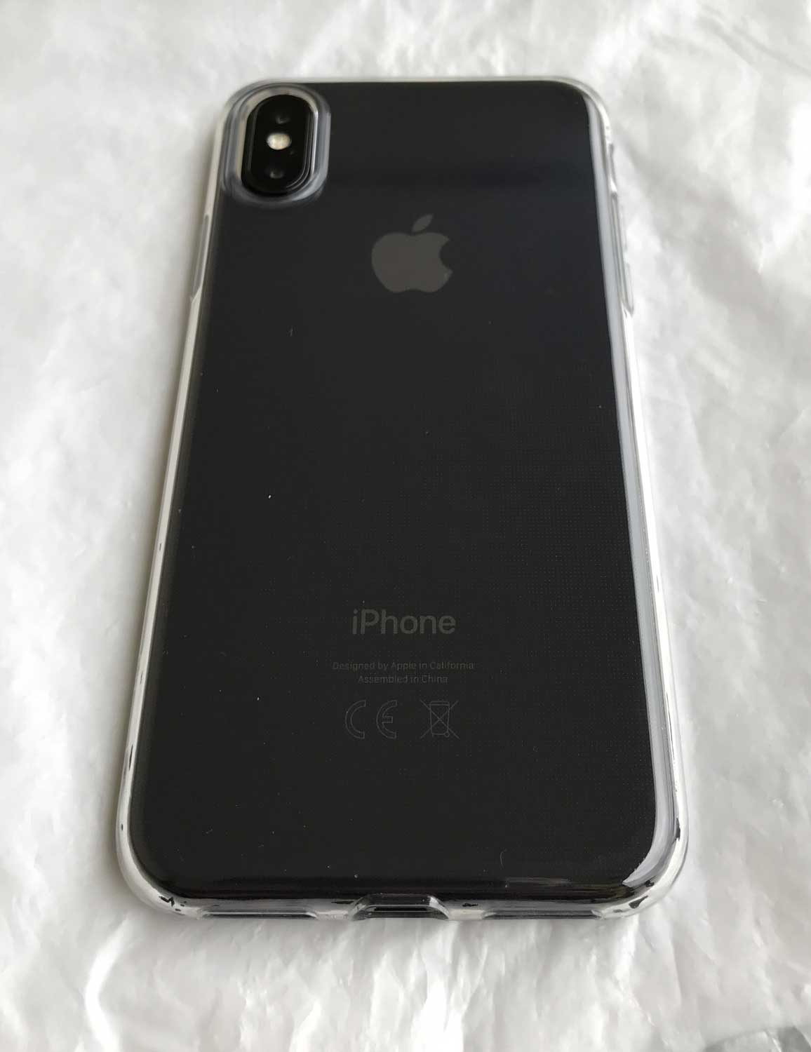 Test de la coque transparente esr pour iphone x for Interieur iphone x