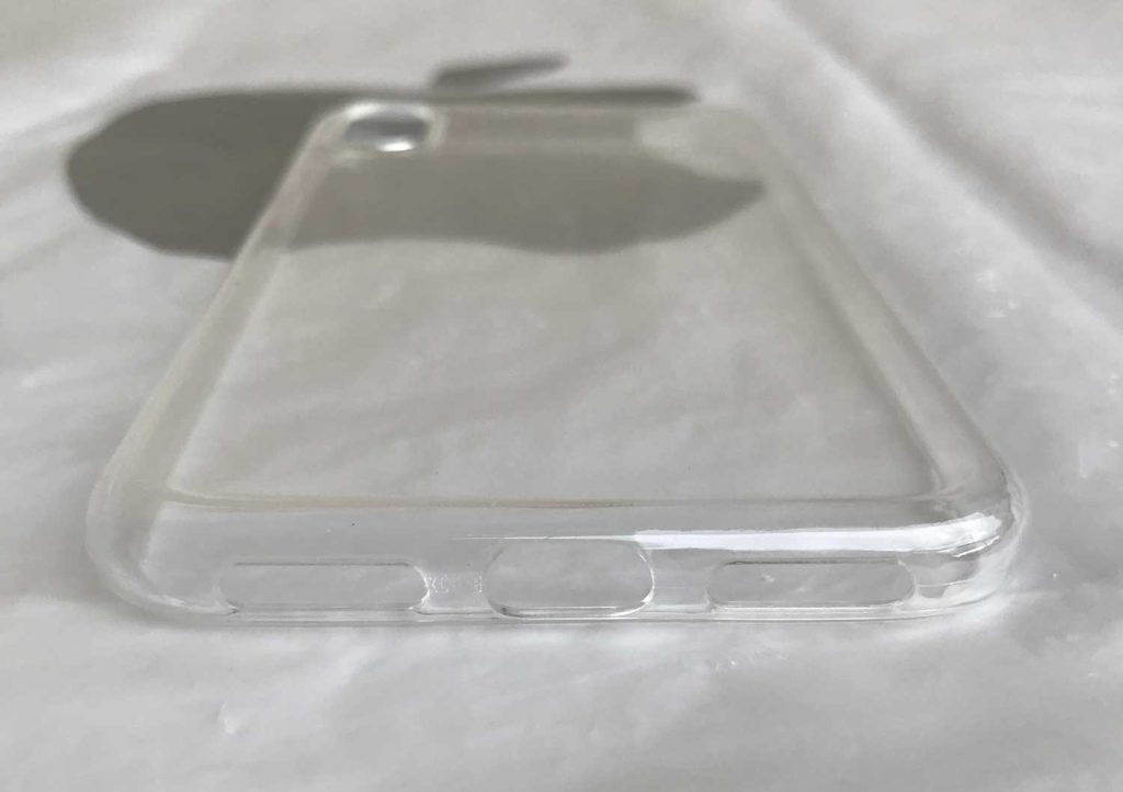 Test de la coque transparente ESR pour iPhone X