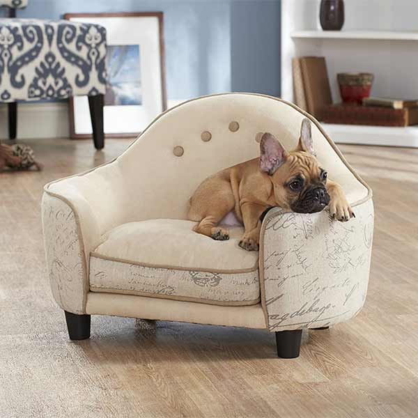 niche canap lit panier pour chien le confort des toutous. Black Bedroom Furniture Sets. Home Design Ideas