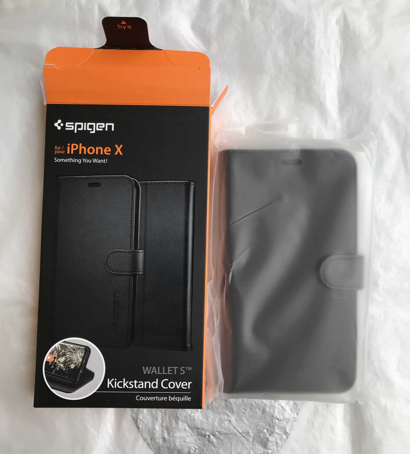 coque spigen iphone x carte