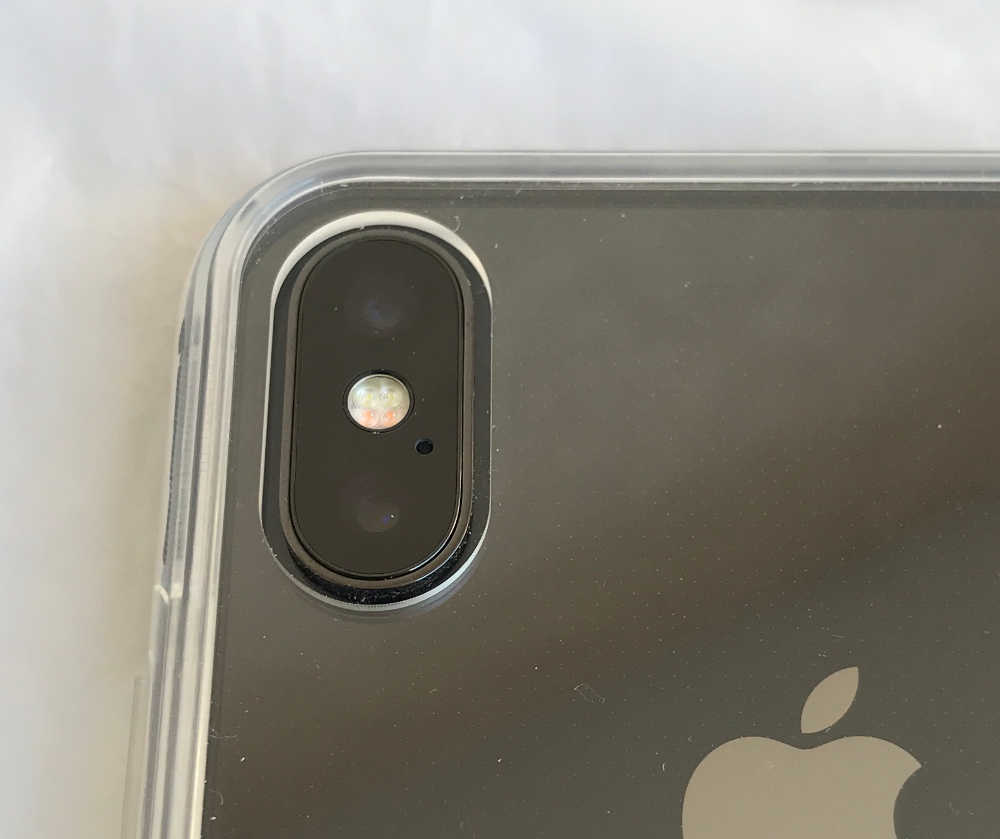 Test de la coque transparente jetech pour iphone x for Interieur iphone x