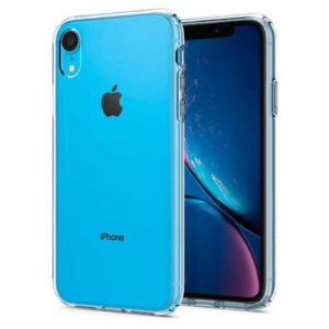 coque iphone xr semi transparent