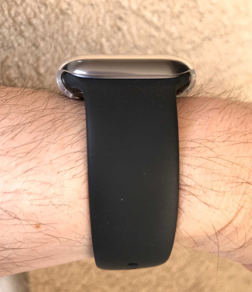 Test de la coque Crystal Claire Sleo pour Apple Watch Series 4