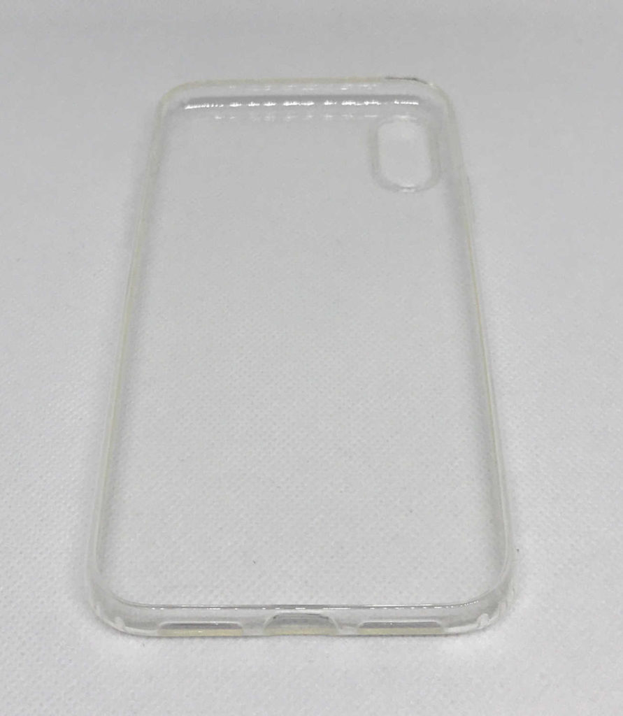 Test de la coque silicone transparente ESR pour iPhone XR