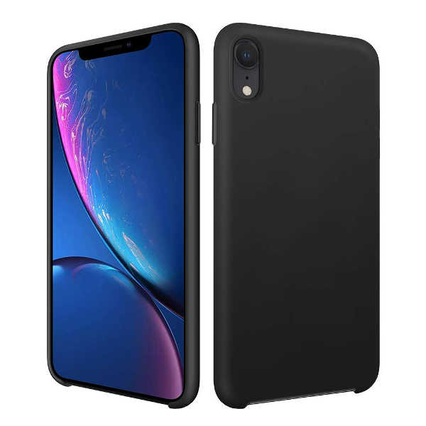 coque iphone xr silicone glace