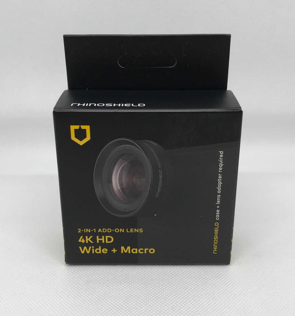 Test des objectifs Grand Angle et HD 4K + Macro RhinoShield pour iPhone