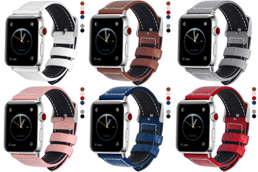 Test du bracelet cuir Fullmosa pour Apple Watch