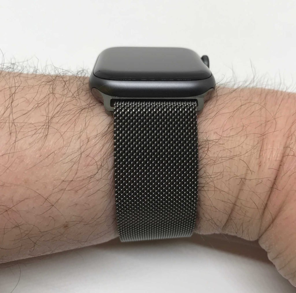 Test du bracelet milanais iBander pour Apple Watch