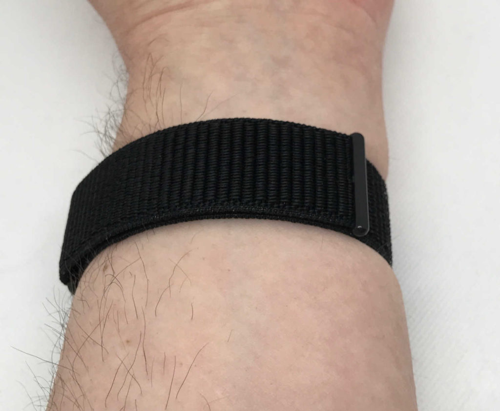 Test du bracelet sport en nylon Hilimny pour Apple Watch