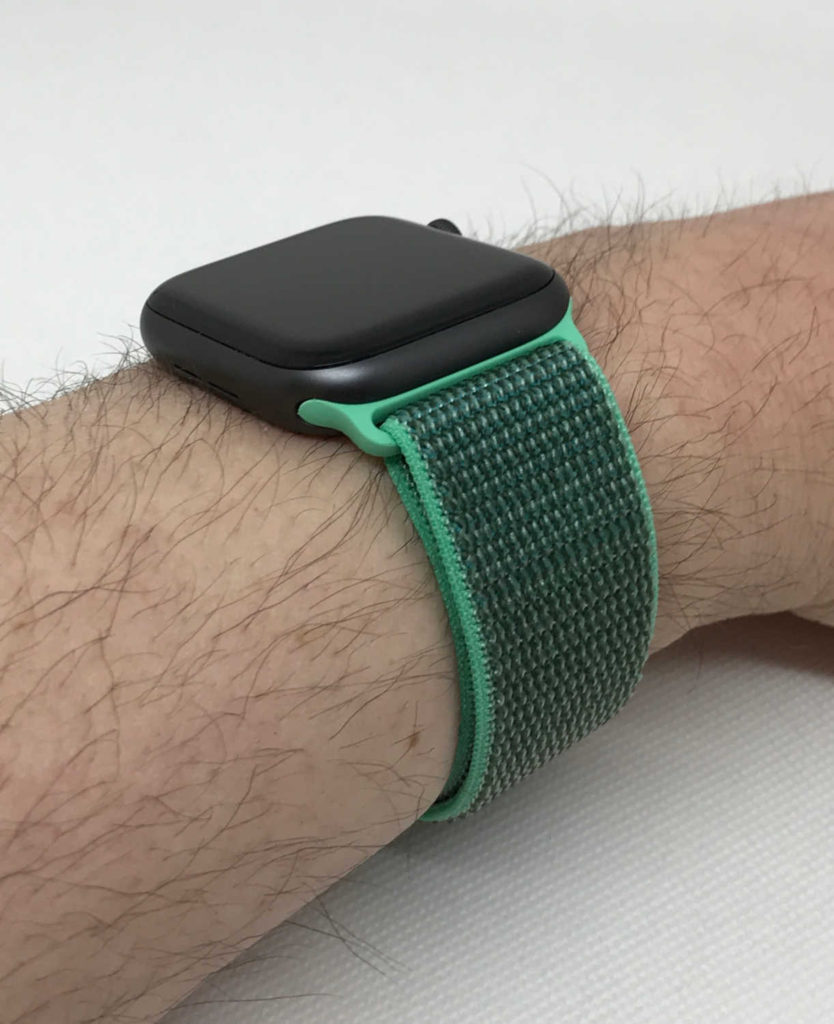 Test du bracelet Apple Boucle Sport pour Apple Watch