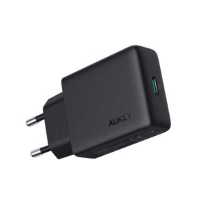 Test du chargeur secteur compact USB-C 18W Power Delivery PA-Y20 Aukey