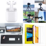 Promos du 28 mai 2019 : AirPods, vitre protection écran Sparin, batteries externes, trépied flexible, tapis souris XXL