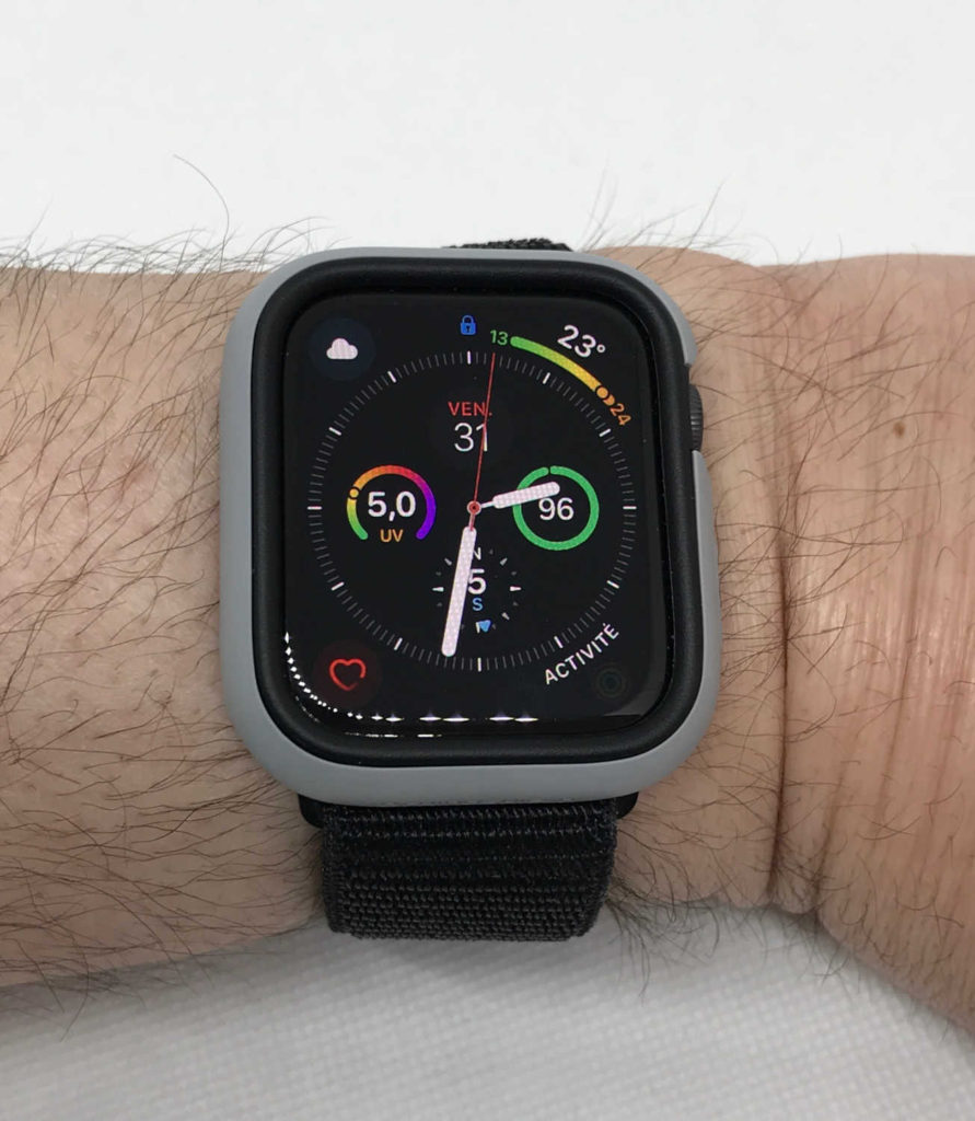 Test de la coque RhinoShield CrashGuard NX pour Apple Watch