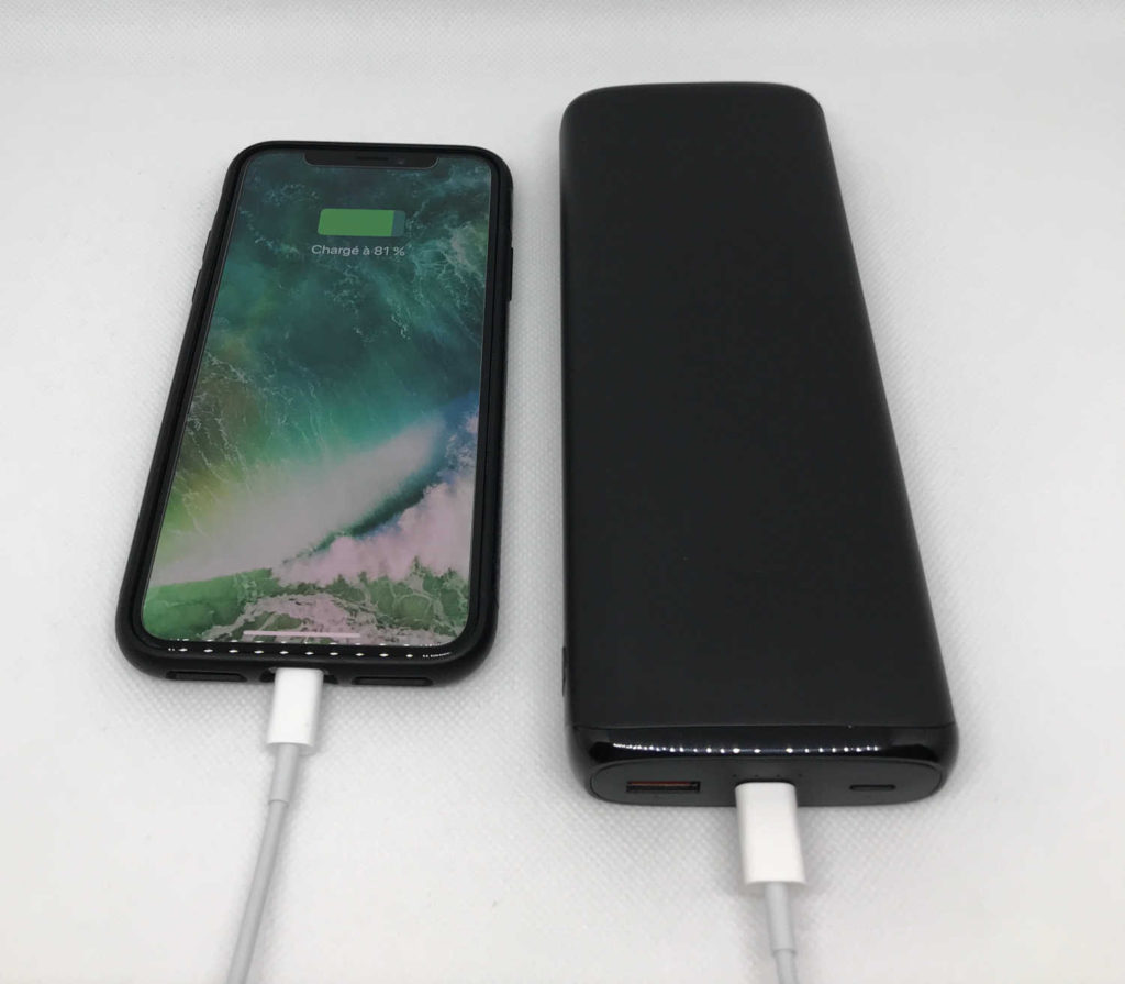 Test de la batterie externe 20000 mAh Power Delivery PB-Y23 Aukey