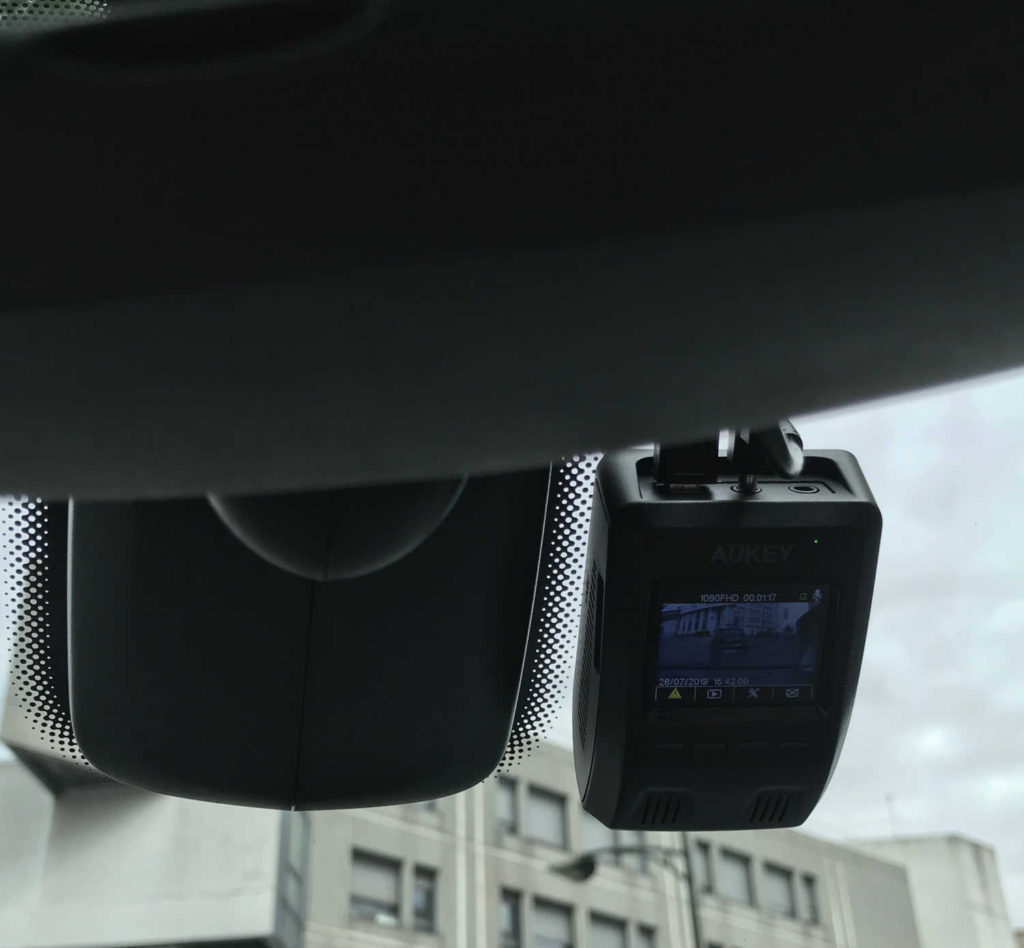 Test de la DashCam 1080p DR02 Aukey