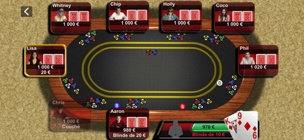 Texas Hold'em d'Apple fait son grand retour sur iPhone