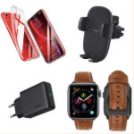 Promos du 17 septembre 2019 : Airpods V2, coque et vitres protection ESR, bracelets cuir Apple Watch, chargeur 18W USB-C Power Delivery, supports voiture