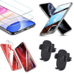 Promos du 21 octobre 2019 : Coques ESR iPhone, vitres protection écran iPhone, supports voiture, AirPods V2