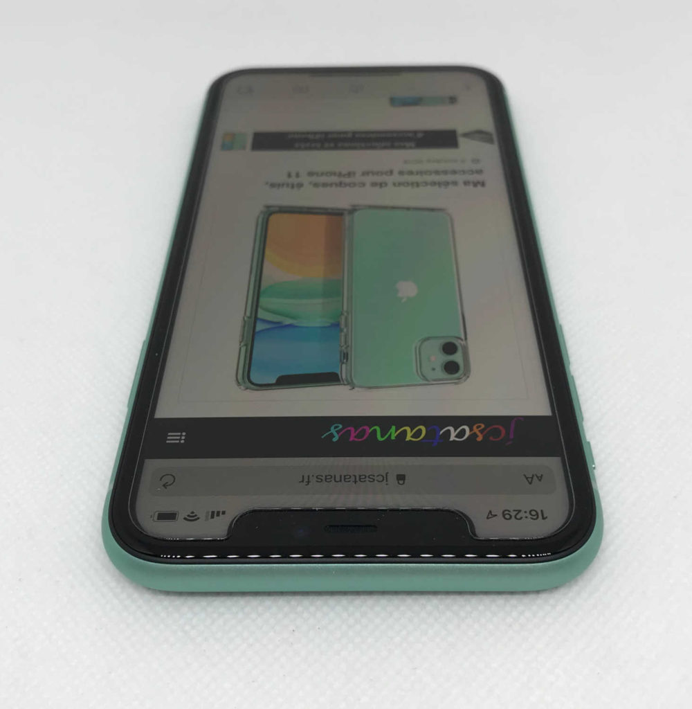 Test de la vitre de protection écran Spigen AlignMaster pour iPhone 11 et iPhone XR